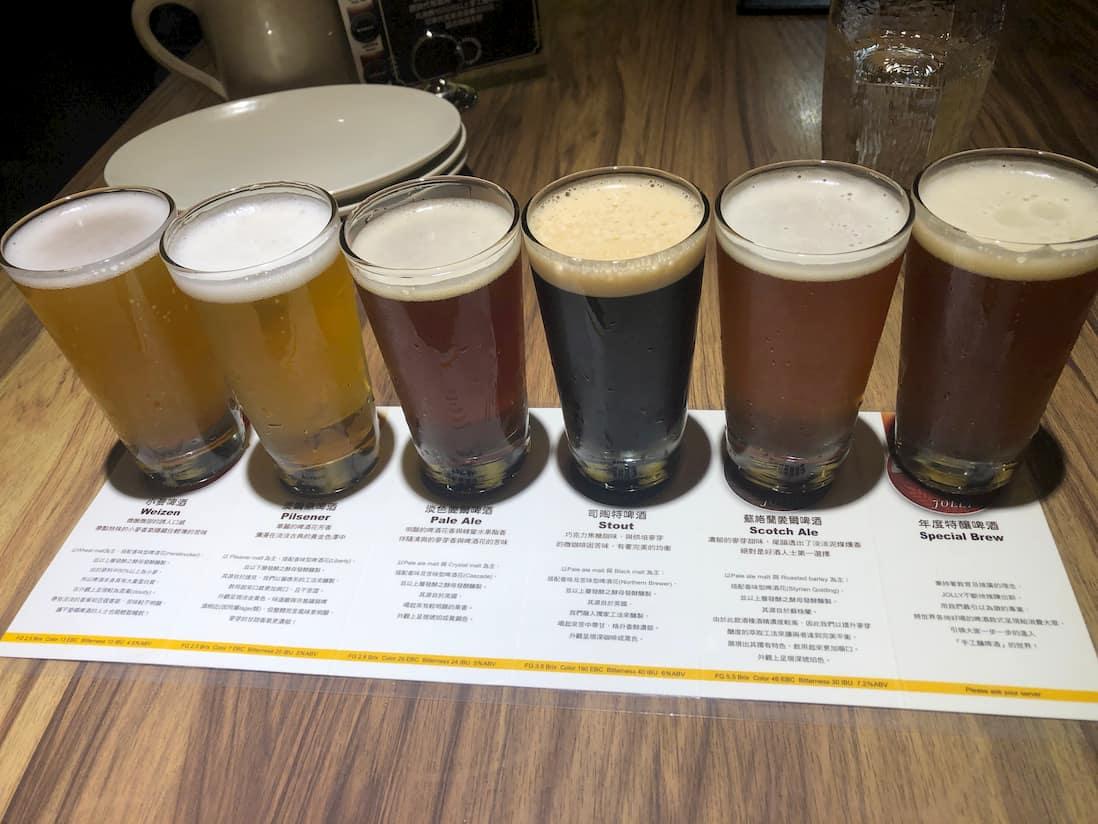 【Jolly Brewery】 卓莉手工釀啤酒+泰食餐廳 (衡陽店)