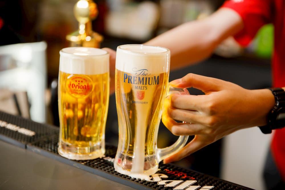 神樂居酒屋招牌生啤酒